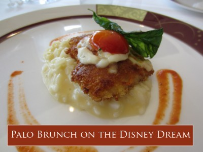 Palo Brunch on the Disney Dream