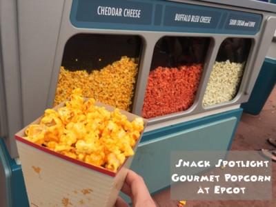 Snack Spotlight on Gourmet Popcorn at Epcot