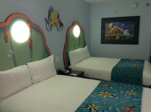 The Little Mermaid Standard Room At Art Of Animation Resort