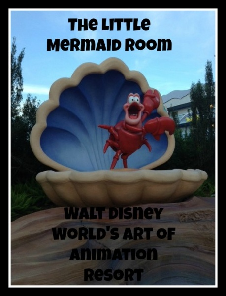 The Little Mermaid Standard Room At The Art Of Animation Resort The Mouse For Less Blog