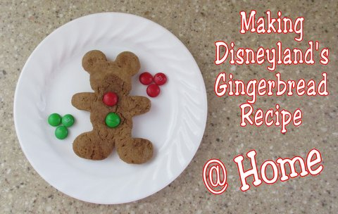 Disneyland's gingerbread recipe