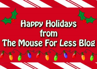 Merry Christmas from The Mouse For Less Blog