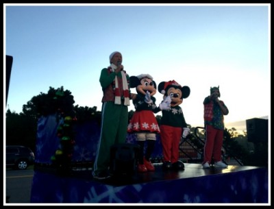 Mickey Minnie Starting Line