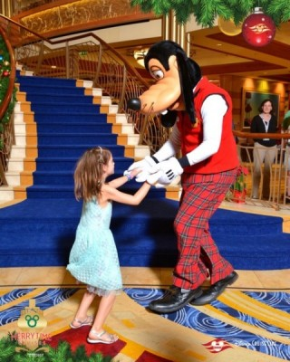 Dancing with Goofy