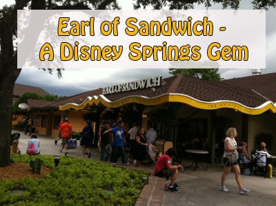 Earl of Sandwich - A Disney Springs Gem