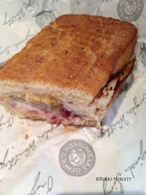 Earl of Sandwich Holiday Sandwich