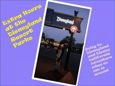 Early Admission for Disneyland