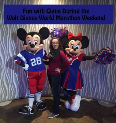 Fun with Cigna during the Walt Disney World Marathon Weekend