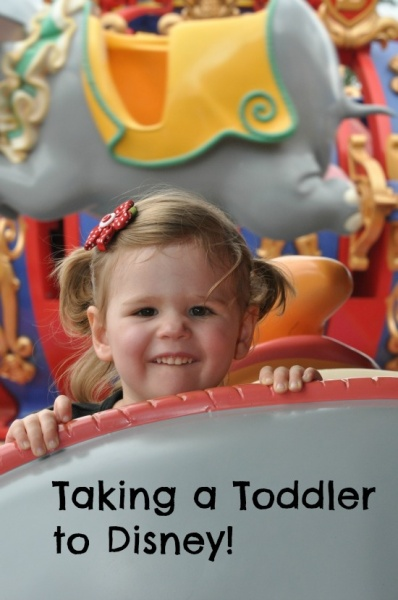 Top 5 Tips for Traveling to Walt Disney World with a Toddler