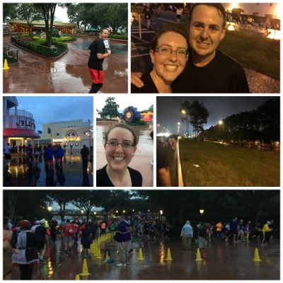 10K race collage