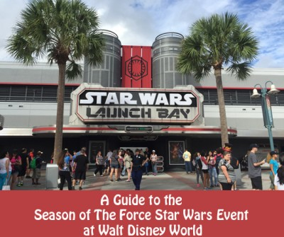 A Guide to the Season of The Force Star Wars Event at Walt Disney World