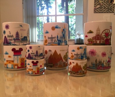The Starbucks Disney Coffee Mugs