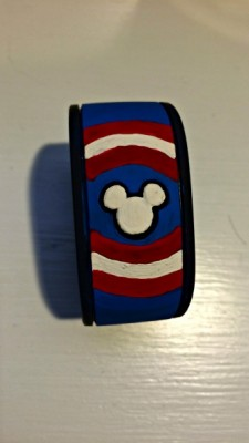Captain America Magic Band