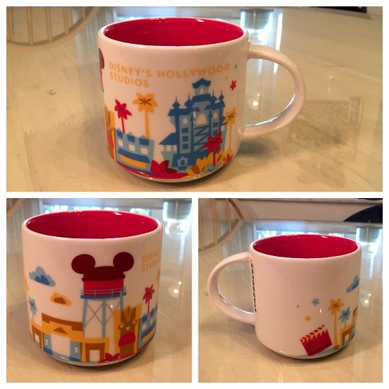 You Are Here The Starbucks Disney Coffee Mugs