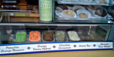 Morrocco Juice Bar Ice Cream