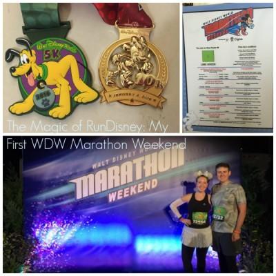 My First WDW Marathon Weekend