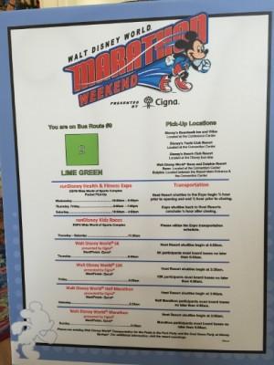 BWV WDW Marathon Weekend Info