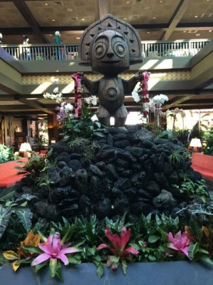 Polynesian Lobby Greets You