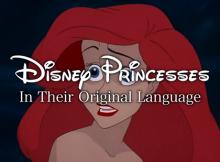 Princesses Native Language