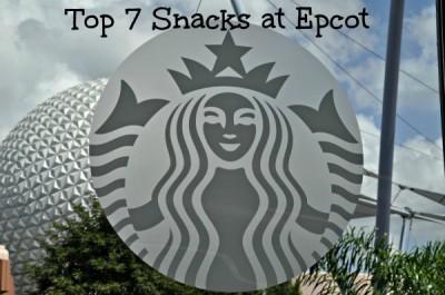 Snacks at Epcot