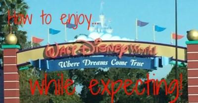 Walt Disney World While Expecting