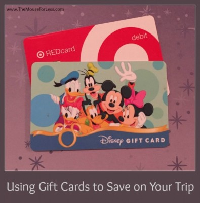 Saving with Gift Cards