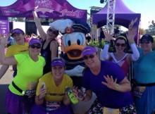 Princess Half Marathon 2015 Finish Line