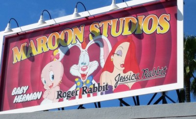 Roger Rabbit Billboard