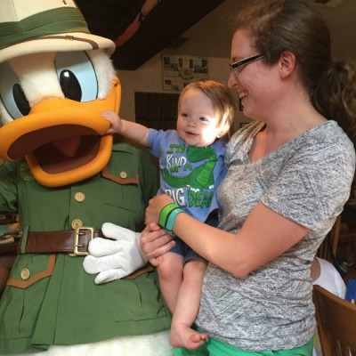 Baby Meets Donald