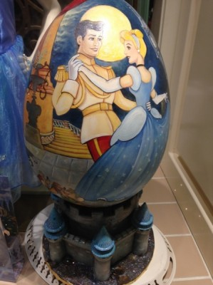 Cinderella Painted Egg