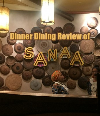 Dinner Dining Review of Sanaa