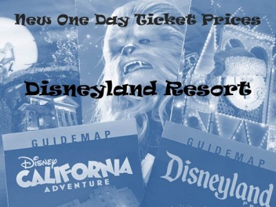 Disneyland One Day Ticket Prices