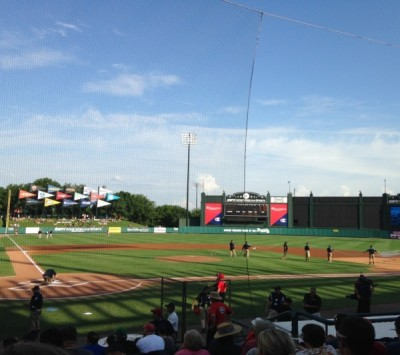 Hey Batter Batter: A spring training game with the Atlanta Braves