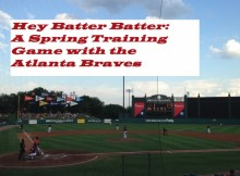 Hey Batter Batter: Spring Training with the Atlanta Braves