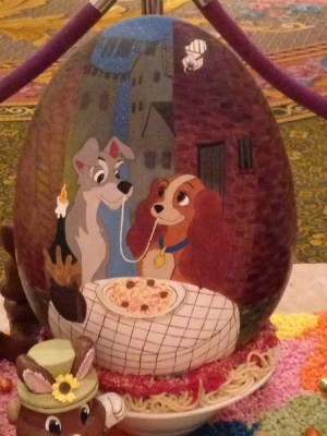 Lady and the Tramp Egg