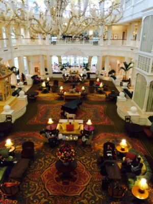 Sip on some tea at the Grand Floridian Resort and Spa.