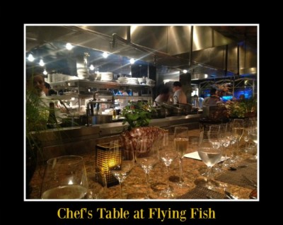 Chef's Table Kitchen View