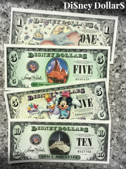 the magic of disney dollars