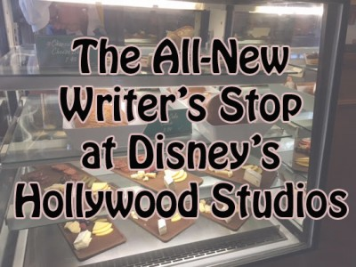 The All-New Writer's Stop at Disney's Hollywood Studios