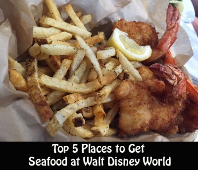 Top 5 Places to Get Seafood at Walt Disney World