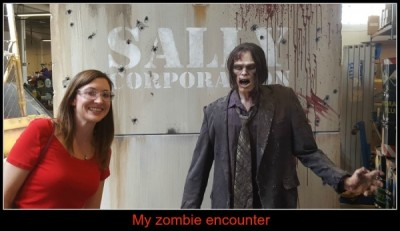 Zombie encounter