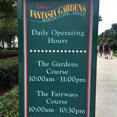 Fantasia Gardens Hours