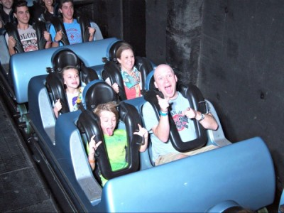 Rockin' Roller Coaster - On Ride