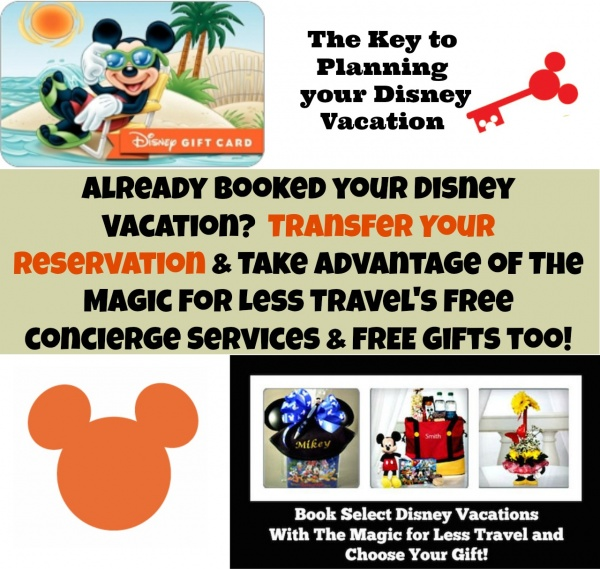 Transfer your Disney Vacation