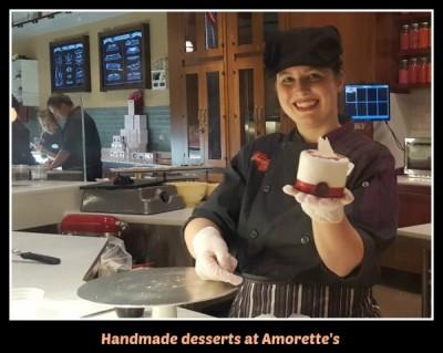Amorette's desserts