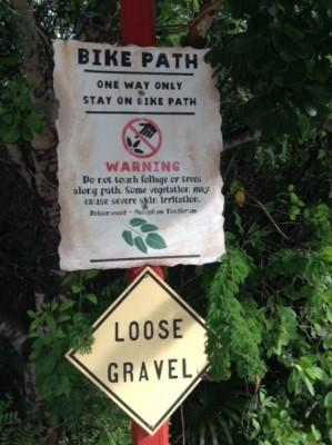 Castaway Cay Bike Path 1