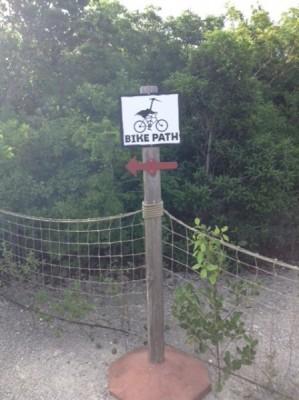Castaway Cay Bike Path 2