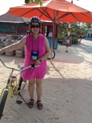 Castaway Cay Bike rental