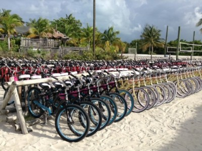 Castaway Cay bike selection