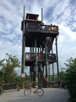 Castaway Cay lookout tower